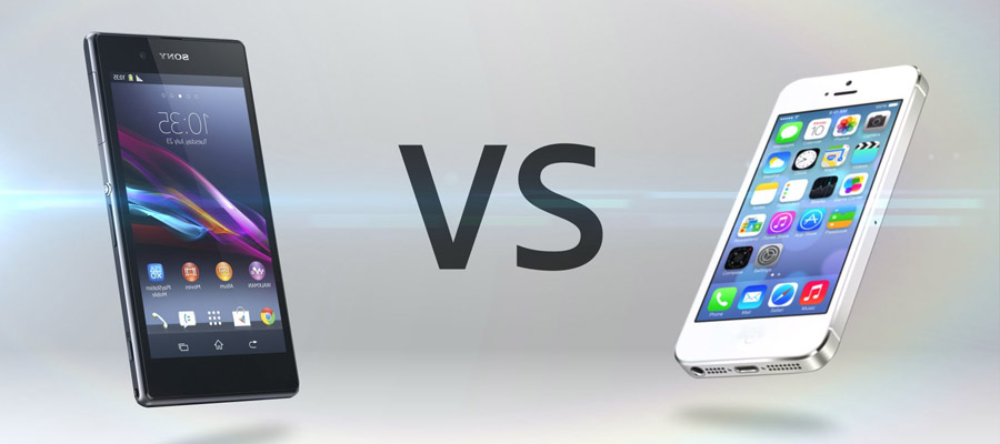 IPhone 5S Vs Xperia Z1