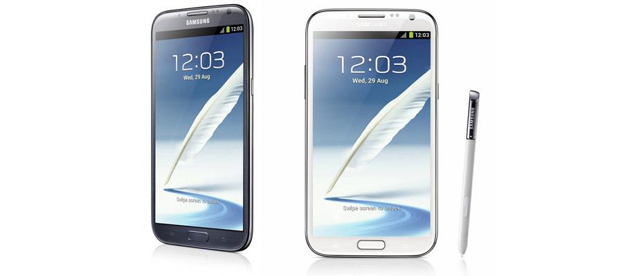 Le Samsung Galaxy Note 2