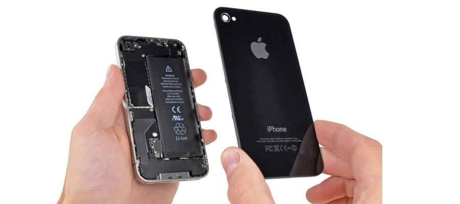 démontage de l'iPhone 5