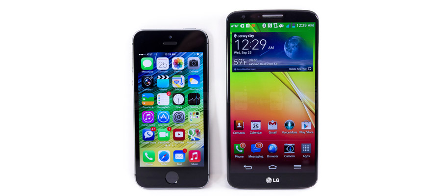 IPhone 5S vs LG G2