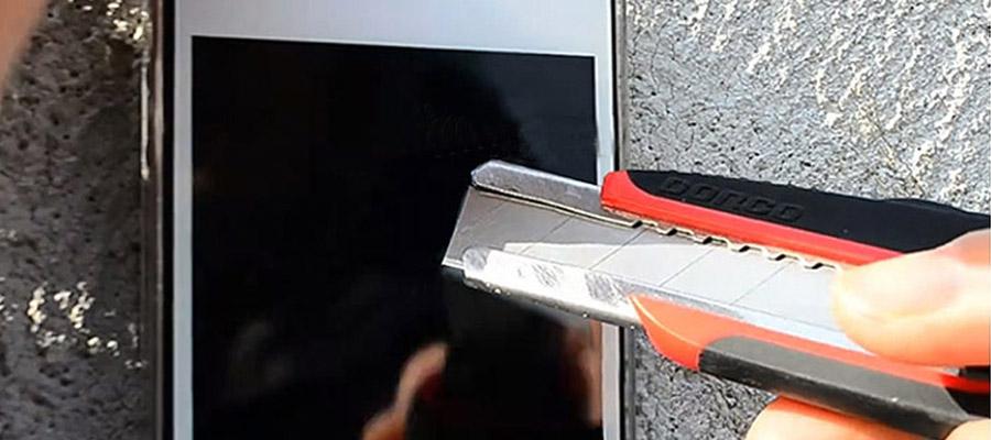 La coque et vitre iPhone 5S test