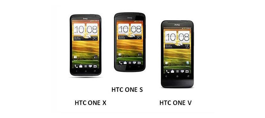 La différence entre le HTC One X, HTC One S et le HTC One V