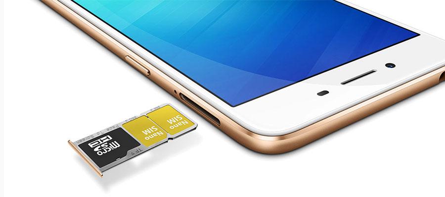 Smartphone double-SIM