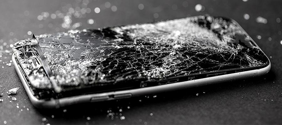 iPhone est cassé