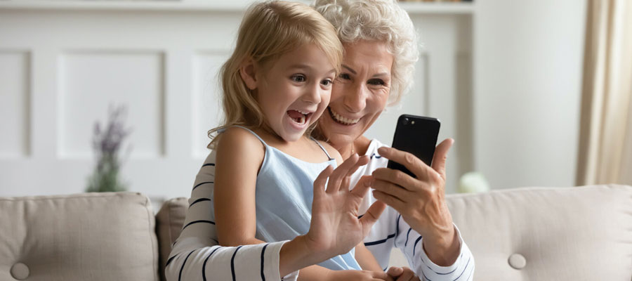 Grands-parents Smartphones